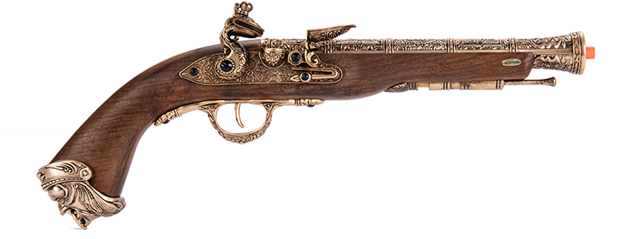 HFC Flintlock Pirate CO2 Airsoft Pistol (GOLD)
