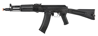 LCT Airsoft AK104 Steel AEG Airsoft Rifle w/ Folding Stock (BLACK)