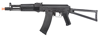 LCT Airsoft AK105 Steel AEG Airsoft Rifle w/ Folding Stock (BLACK)