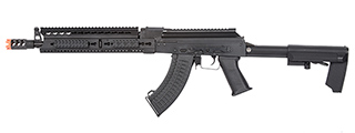 "LCT Steel 13.5"" KeyMod AK AEG Airsoft Rifle (Black)"