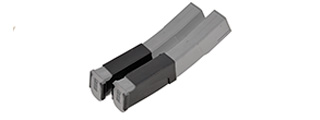 LCT Airsoft PP-19-01 Steel Magazine Clip (BLACK)
