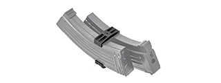 LCT AIrsoft AK47 Double Magazine Clip (BLACK)