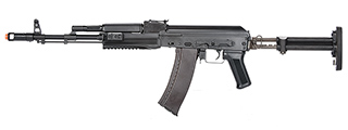 LCT Airsoft STK-74 Tactical AK AEG Rifle (BLACK)