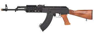 LCT Airsoft TX-63 / AK-63 RIS AEG Rifle (REAL WOOD)