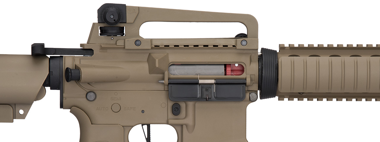 Lancer Tactical LT-04 Hybrid Gen 2 M4 RIS Airsoft AEG [HIGH FPS] (TAN)