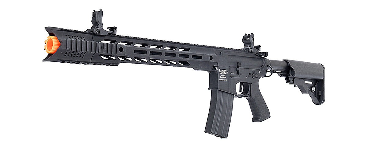 "Lancer Tactical LT-25 ProLine Series M4 SPR ""Interceptor"" Airsoft AEG [HIGH FPS] (BLACK)"