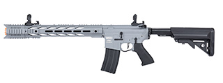 "Lancer Tactical LT-25 ProLine Series M4 SPR ""Interceptor"" Airsoft AEG [HIGH FPS] (GRAY)"
