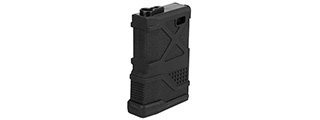Lancer Tactical 70rd HPA Speed Magazine for M4 / M16 / Enforcer AEGs [Mid Cap] (BLACK)