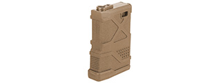 Lancer Tactical 70rd HPA Speed Magazine for M4 / M16 / Enforcer AEGs [Mid Cap] (TAN)