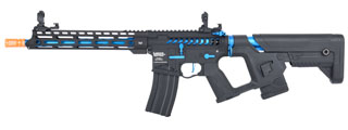 Lancer Tactical Enforcer BLACKBIRD Skeleton AEG w/ Alpha Stock [LOW FPS] (BLACK/BLUE)