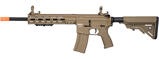 Lancer Tactical MK1 SMR Black Jack Strategic M4 Airsoft AEG (TAN)