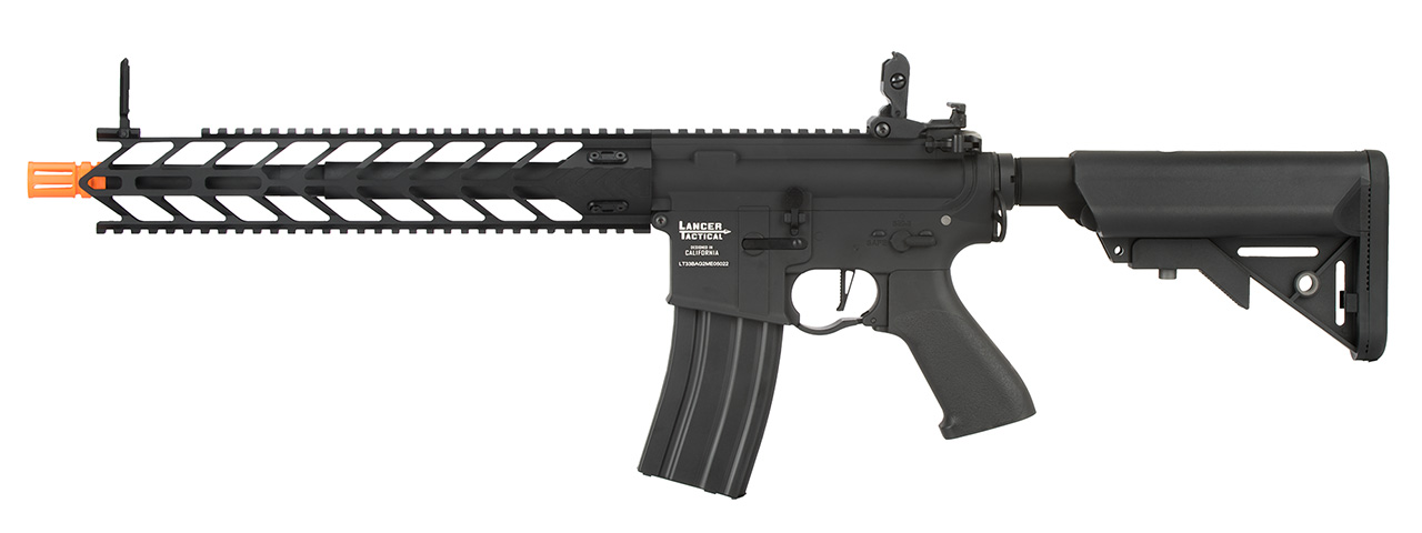 "Lancer Tactical LT-33 Proline ""Nightwing"" AEG Rifle (BLACK)"