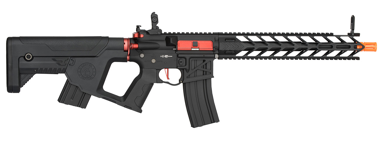 Lancer Tactical Enforcer NIGHT WING Skeleton AEG [HIGH FPS] (BLACK + RED)
