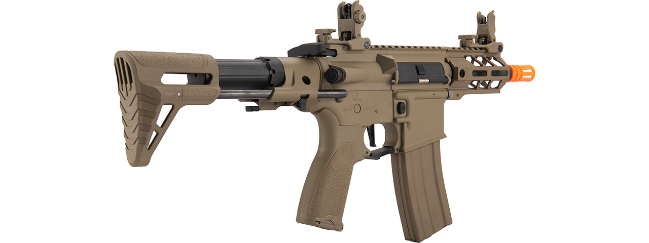 "Lancer Tactical Enforcer Hybrid Gen 2 BATTLE HAWK 4"" PDW AEG [LOW FPS] (TAN)"