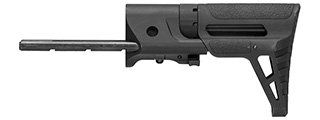 Lancer Tactical M4 AEG Retractable PDW Stock (BLACK)
