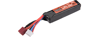 Lancer Tactical 11.1V 600 mAH 20C PDW LiPo Battery