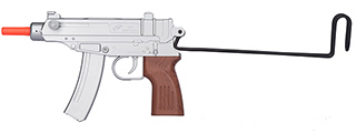 UKARMS M37AS Scorpion Spring Pistol w/ Folding Stock (Silver)