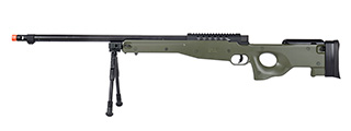 WellFire MB15 L96 Bolt Action Airsoft Sniper Rifle w/ Bipod (OD GREEN)