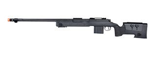 WellFire MB4416 M40A3 Bolt Action Airsoft Sniper Rifle (BLACK)