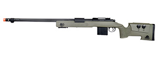 WellFire MB4416 M40A3 Bolt Action Airsoft Sniper Rifle (OD GREEN)