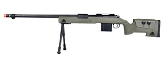 WellFire MB4416 M40A3 Bolt Action Sniper Rifle w/ Bipod (OD GREEN)