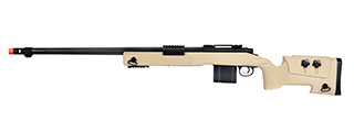 WellFire MB4416 M40A3 Bolt Action Airsoft Sniper Rifle (TAN)