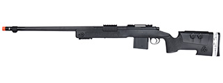 WellFire MB4417 M40A3 Bolt Action Airsoft Sniper Rifle (BLACK)