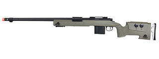 WellFire MB4417 M40A3 Bolt Action Airsoft Sniper Rifle (OD GREEN)