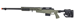 WellFire MB4418-2 Bolt Action Airsoft Sniper Rifle (OD GREEN)