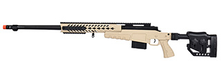 WellFire MB4418-2 Bolt Action Airsoft Sniper Rifle (TAN)