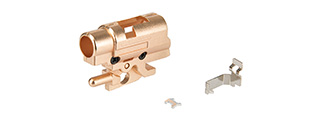 Maple Leaf Steel Hop-up Chamber Set for MARUI/WE/KJ M1911 Series Pistols (BRONZE)