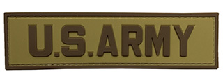 G-Force U.S. Army PVC Morale Patch (TAN/BROWN)