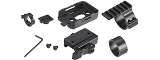 RunCam Bracket w/ Rail Mount and Adapter for RunCam2 [Airsoft Version]