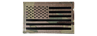 American Flag Embroidered Morale Patch (MULTICAM)