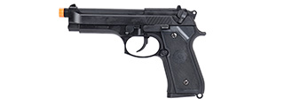 Tokyo Marui M92F Military Airsoft Gas Blowback Pistol (BLACK)