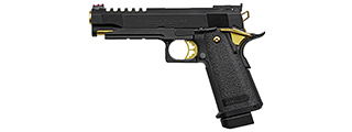 Tokyo Marui Hi-Capa 5.1 Gold Match Custom Gas Blowback Airsoft Pistol (BLACK/GOLD)