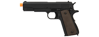 WE Tech Original M1911A1 Gen. 2 Full Metal Gas Blowback Airsoft Pistol (BLACK)