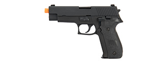 WE Tech F226 Gas Blowback Airsoft Pistol (BLACK)