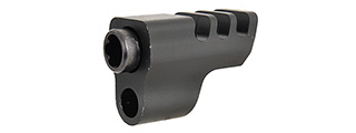 WE Tech IPSC X004 Competition Airsoft Pistol Compensator (BLACK)