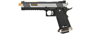 WE Tech 1911 Hi-Capa T-Rex Competition Gas Blowback Airsoft Pistol w/ Sight Mount & Top Ports (TWO TONE / GOLD)