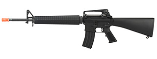 WE Tech M16A3 Open Bolt Full Metal Gas Blowback Airsoft GBBR RIfle (BLACK)