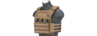AC-591T Plate Carrier (Tan)