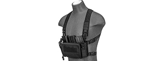 WST MULTIFUNCTIONAL TACTICAL CHEST RIG (Black)