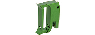 Airsoft Masterpiece EDGE T1 Trigger for Hi-CAPA/1911 Pistol (Green)