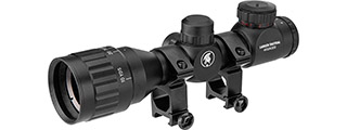 Lancer Tactical 4X32 AOEG Scope, Black