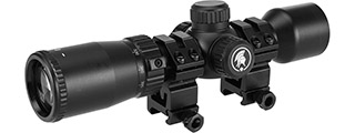 Lancer Tactical 1.5-5x32 EG Rifle Scope, Black