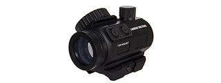 Lancer Tactical Green & Red Dot Sight w/ Side Button (Black)