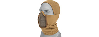 Shadow Warrior Hood Mesh Balaclava (Tan)