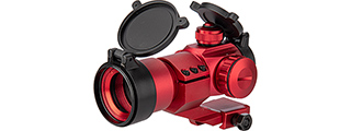 Lancer Tactical Red & Green Dot Cantilever Prism Scope (Red)