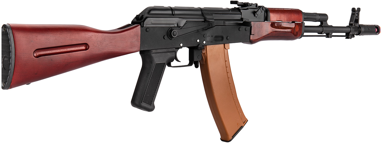 Double Bell AK74N AEG Airsoft Rifle [Type A] (BLACK / WOOD)